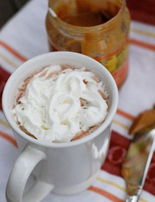 Peanut Butter Hot Chocolate
