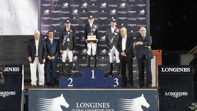 Equestrian - Davis edges out French pair to win in Lausanne