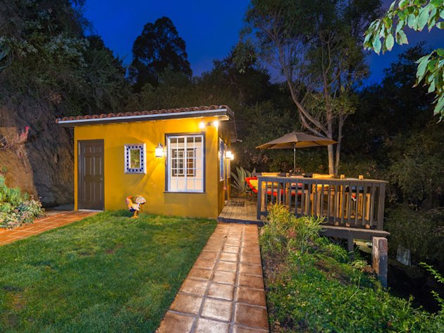 This Hollywood Hills property consists of two tiny houses: one 612 square feet, one just 190 square feet. Click the photo to see details and many more...