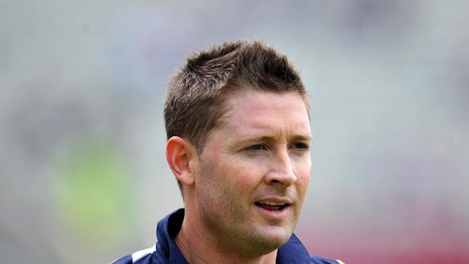 Michael Clarke is hoping to put South Africa under pressure on the final day at the Gabba