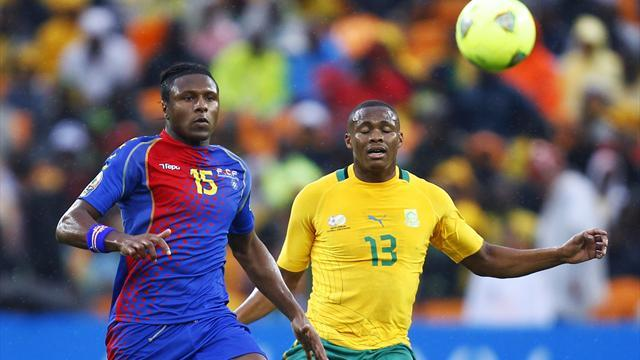 African Cup of Nations - Cape Verde hold South Africa to bore draw