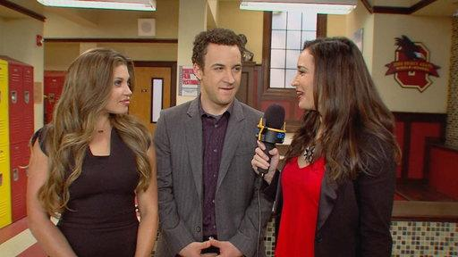 'Girl Meets World': On the Set With Danielle Fishel & Ben Savage