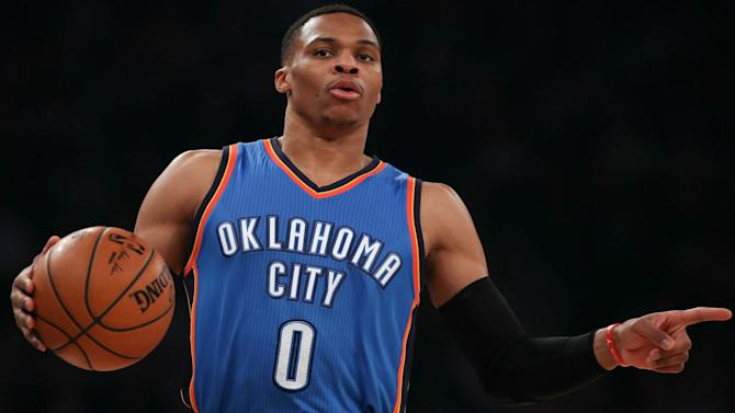 Russell Westbrook reaches yet another milestone on triple-double streak