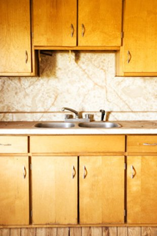 Error for How to make old cabinets look modern