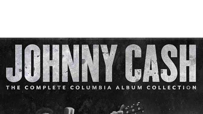 "This cover image released by Columbia/Legacy shows a box set for ""Johnny Cash, ""The Complete Columbia Album Collection."" (AP Photo/Columbia/Legacy)"
