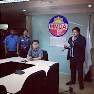 Carabuena is sorry. (Photo by Yves Gonzales, MMDA)