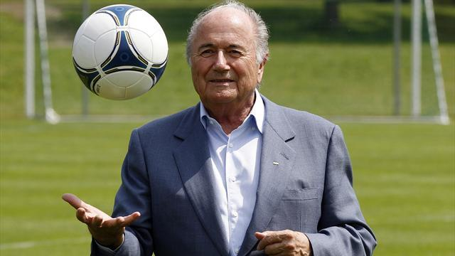 World Cup - Blatter says worldwide effort needed to battle corruption
