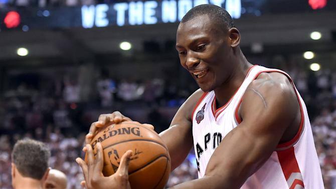 Bismack Biyombo took the scenic route to an NBA Playoffs breakout
