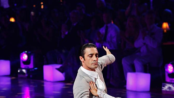 """Gilles Marini and Cheryl Burke perform the Waltz to """"Come Away with Me"""" by Norah Jones on """"Dancing with the Stars."""""""