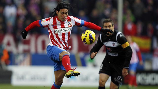 Spanish Liga - Falcao injury not as bad as thought