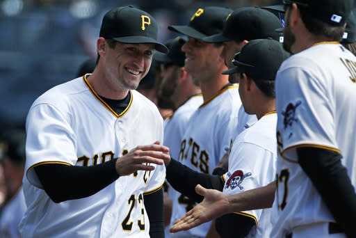 Former World Series MVP Freese fitting in with Pirates
