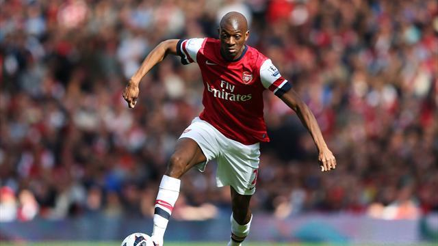 Premier League - Diaby makes return to Arsenal bench