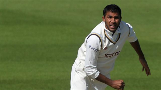 County - Yorkshire in charge at Chesterfield
