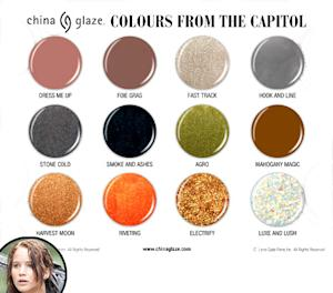 The Hunger Games Is Getting a Nail Polish Line!