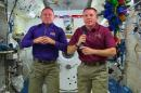 Astronauts Celebrate Christmas in Space