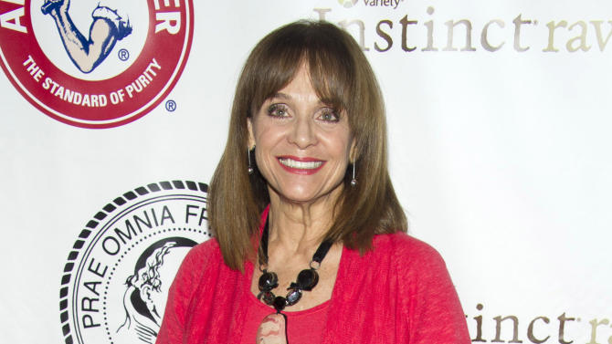 """FILE - This May 16, 2012 file photo shows actress Valerie Harper at the Friars Club Roast of Betty White in New York. The daytime talk show """"The Doctors"""" said that Harper will appear on the show Monday to talk about her brain cancer. The 1970s sitcom star has been diagnosed with a rare brain cancer and told she has as little as three months to live. Harper played Rhoda Morgenstern on television's """"The Mary Tyler Moore Show"""" and its spinoff, """"Rhoda.""""  (AP Photo/Charles Sykes, file)"""