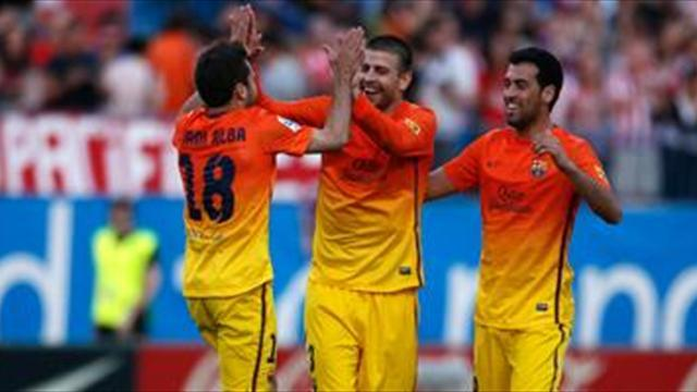 Liga - Pique: Nearly perfect season