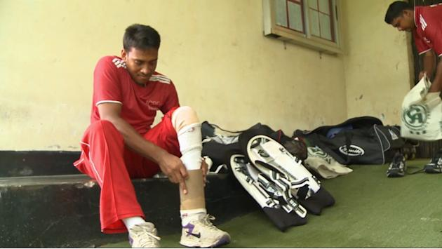 Disabled players accomplish dreams on cricket field