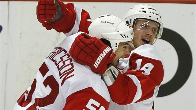 Ice Hockey - Nyquist OT goal sees Red Wings level series