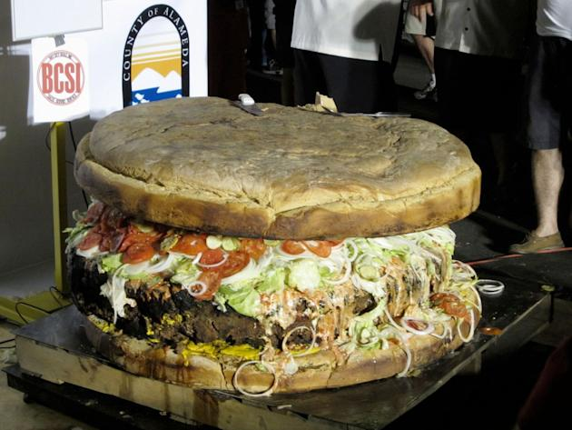 The world's biggest food portions