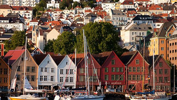 7. Norway 5-year price growth: 28.7 percent   Switzerland and Norway are the only European countries to make the list of the world's hottest housing markets.   Unlike most European nations that face a gloomy economic outlook, oil-rich Norway is set to expand 2.7 percent in 2012. Low interest rates have led citizens to take on debt to buy property contributing to a jump in prices that gained 6.8 percent year on year in March.   Another incentive for Norwegians to buy property is a 28 percent tax deduction on interest payments. An unexpected cut in interest rates to 1.5 percent in March further raises the risk of an already developing housing bubble.   In February, the IMF warned that Norwegian home prices were up to 20 percent overvalued. According to government figures, housing prices are seen to be growing almost twice as fast as wages this year. Housing prices in the west coast city of Stavanger , which is the capital of the country's oil industry, rose 92 percent between 2005 and 2011.   Pictured left: The waterfront of Bergen, Norway.   Photo: Connie Coleman | Getty Images