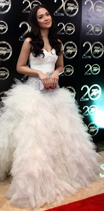 Star Magic Ball 2012 Female Star of the Night Maja Salvador