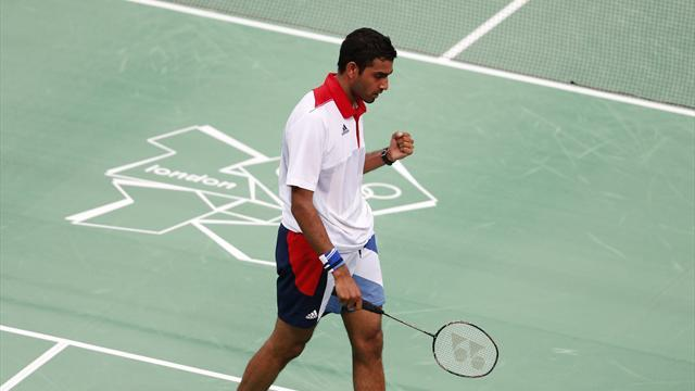 Badminton - Ouseph's coach sings his praises after European silver