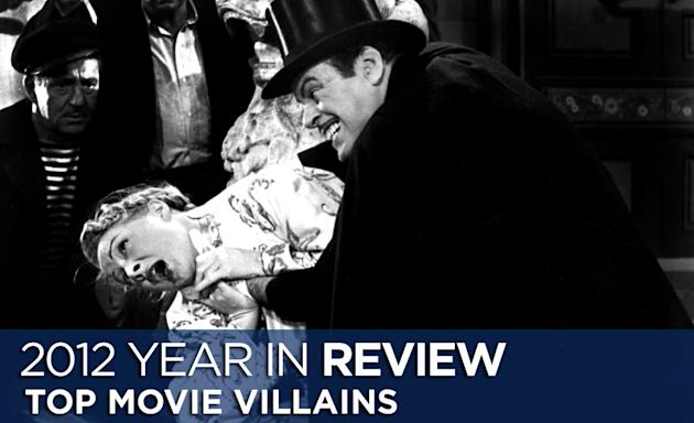 Top Villains of 2012