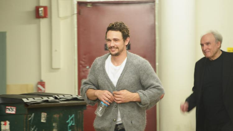 Frank Bidart And James Franco In Conversation
