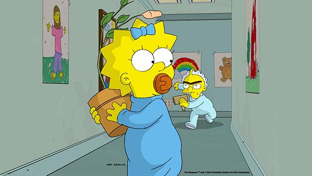 THE SIMPSONS: THE LONGEST DAYCARE Maggie Simpson