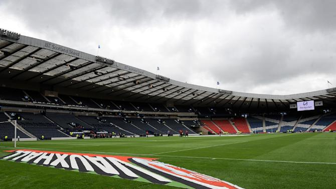 Hampden Park will stop hosting football matches in November 2013 so the stadium can be transformed into an athletics track