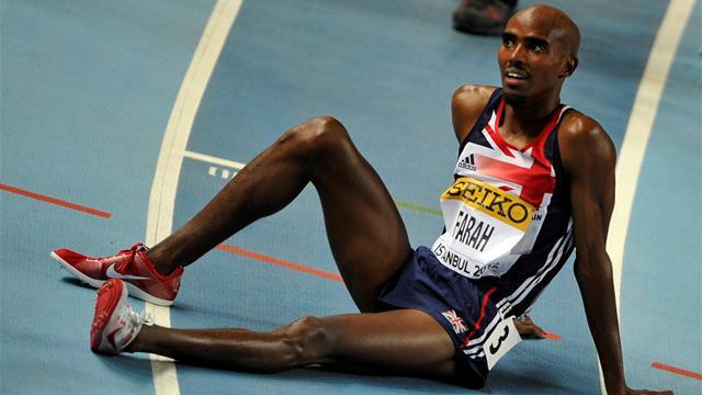 London 2012 - Farah withdraws from 1500m trials