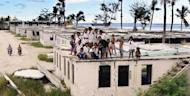 File photo of squalid housing on the island state of Nauru, the world's smallest republic. Australian Prime Minister Julia Gillard has suggested re-opening a centre on Nauru in order to process asylum seekers heading to Australia