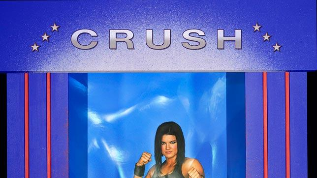 Gina Carano as Crush on American Gladiators.