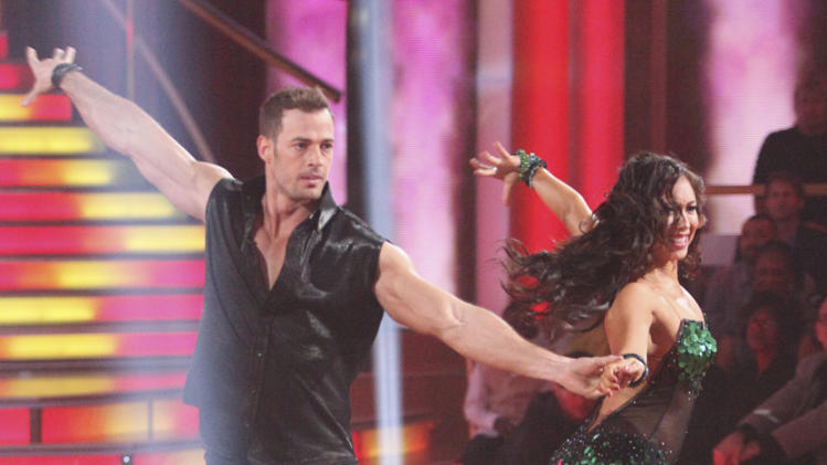"William Levy and Cheryl Burke perform on ""Dancing With the Stars."""