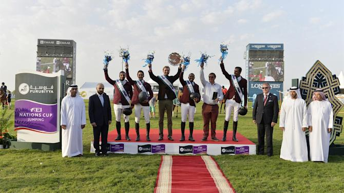 Equestrian - Barcelona and Rio in store for Qatari showjumpers after Nations Cup success