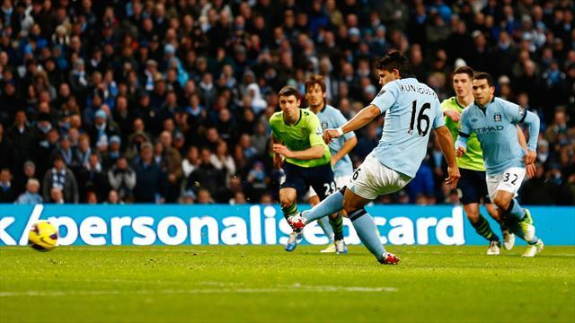 Premier League - Il City dilaga contro i Villans: 5-0