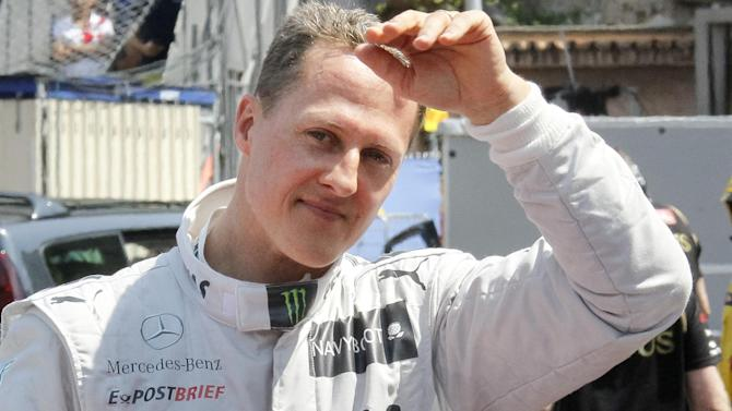 Formula 1 - Michael Schumacher 'making progress', says manager