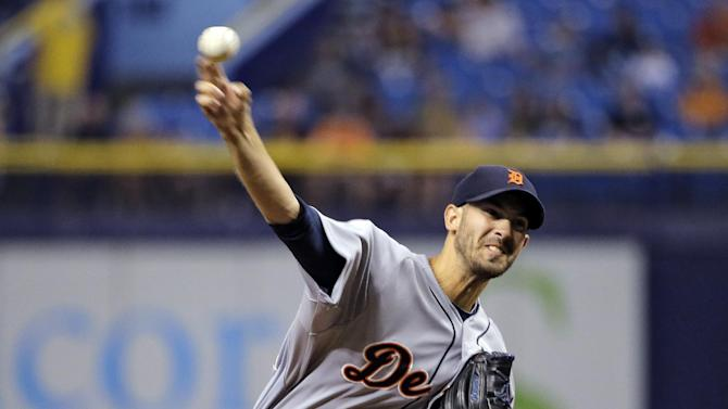 Porcello pitches 3-hitter, leads Tigers over Rays