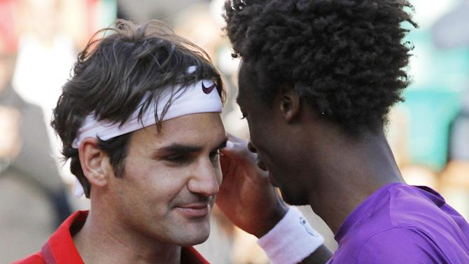 US Open men - Federer hopes to see off maturing Monfils and reach semis