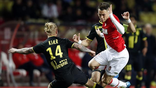 Ligue 1 - Monaco's title challenge in tatters after Lille draw