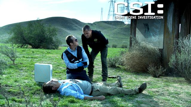 CSI: - Trouble In The Desert