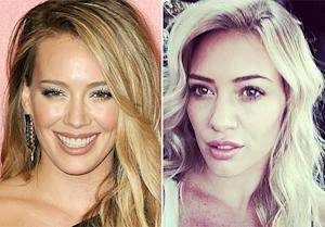 "Hilary Duff Lightens Hair to ""Super Blonde:"" See the Gorgeous Picture"