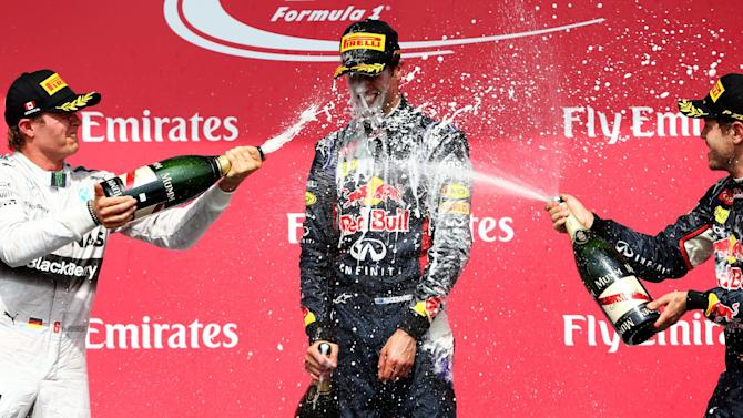 Formula 1 - Ricciardo: First F1 win feels surreal