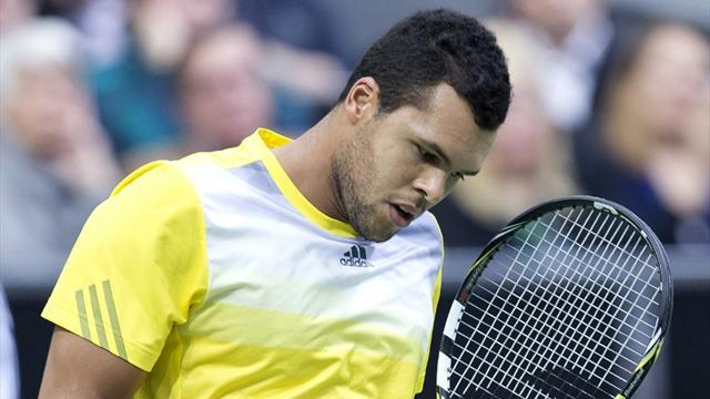 Tennis - Tsonga shocked in Rotterdam opener