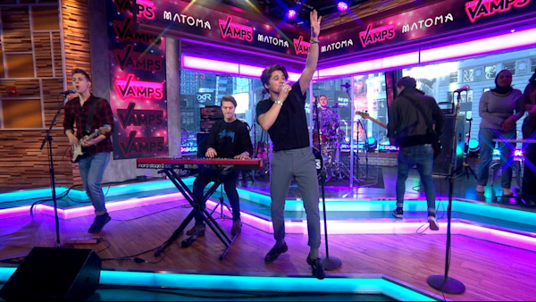 Good Morning America Live Tickets : The vamps featuring matoma perform live on gma watch