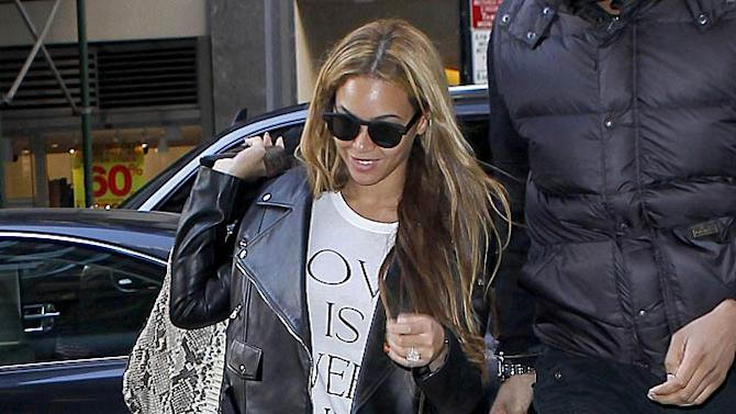 Knowles Beyonce Studded Leggins