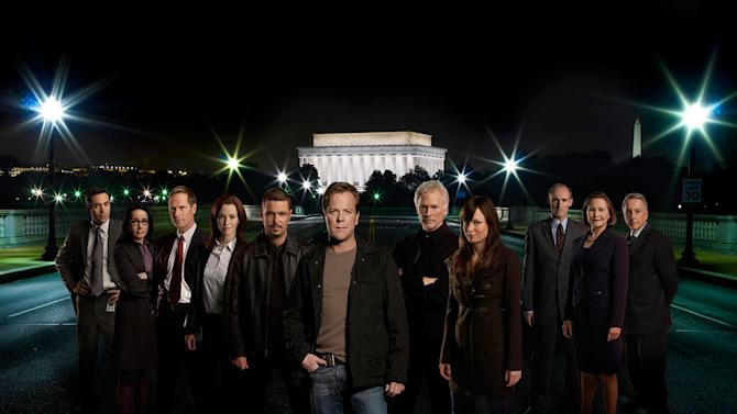 The cast of 24.