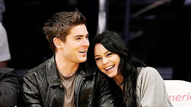 Efron Hudgens Lakers Game