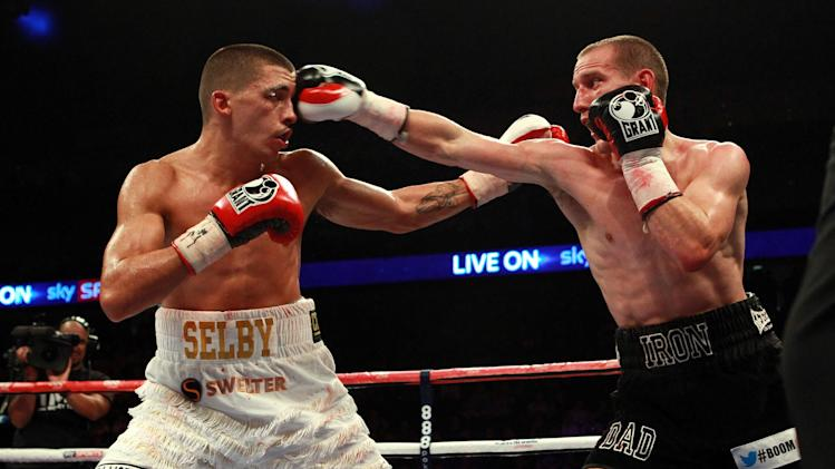 Boxing - British and Commonwealth Featherweight Titles - Lee Selby v Ryan Walsh - O2 Arena